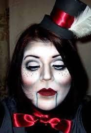 Puppet Doll Halloween Costume Diy Zombie Makeup Tutorial Halloween Halloweeen