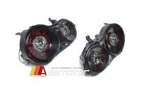 nissan gtr tail lights black smoke multi led tail rear light taillights 2pc for 09 15