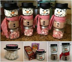 wonderful diy cocoa snowman gift for christmas snowman