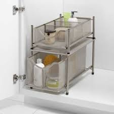the kitchen sink cabinet organization org the sink mesh slide out cabinet drawer collection bed bath beyond