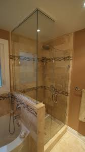 stand up shower jacuzzi tub bathroom design u0026 renovation