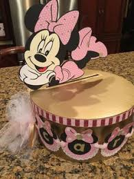 minnie mouse card table minnie mouse theme card box minnie mouse party pinterest
