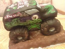 grave digger monster truck wallpaper live free gluten free gravedigger monster truck birthday cake