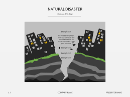 Natural Disaster Powerpoint Templates Free Natural Disasters Slideshop Free