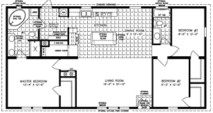1 bedroom trailer one story home plans single family house plans 1 floor home pla