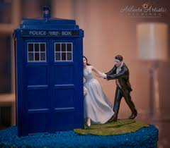 tardis wedding cake topper wedding cake toppers doctors wedding cake topper tardis doctor