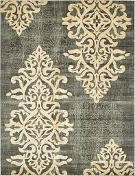 Damask Rugs Blue 10 U0027 X 13 U0027 Damask Rug Area Rugs Esalerugs Area Rugs
