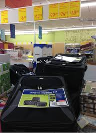 aldi 3 piece luggage for 29 99 al com
