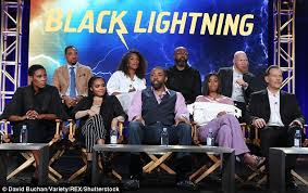 Seeking Cast And Crew The Cast Of Cw S Black Lightning Are Dressed To Impress Daily