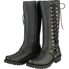 women s street motorcycle boots z1r savage leather womens street road bike moto casual motorcycle