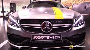 C63 Coupe Interior 2016 Mercedes Amg C63 Coupe Edition 1 Exterior And Interior