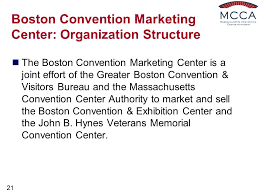 boston convention and visitors bureau presented by milt herbert executive director ppt