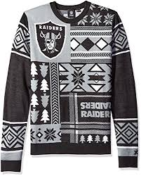 raiders christmas sweater with lights oakland raiders ugly sweater raiders christmas sweater ugly