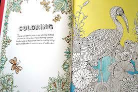 anti stress coloring book creative therapy adults