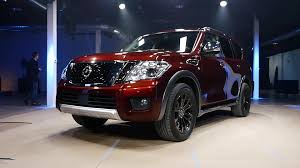 2017 nissan armada cloth interior 2017 nissan armada prepares to patrol the us autoblog