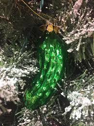 christmas pickle the history of the christmas pickle tradition