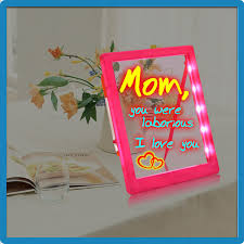 selling in uk childrens led writing boards abs plastic frame
