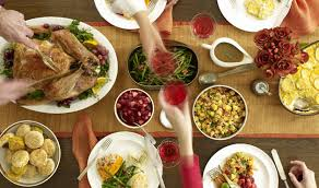 the thanksgiving feast is getting cheaper onward