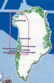 Greenland Map Geology And Our Environment Greenland