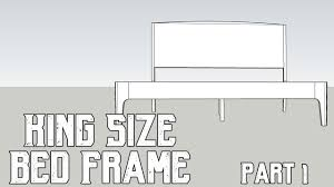 Design Your Own Bed Frame A King Size Bed My Design Process Design Considerations