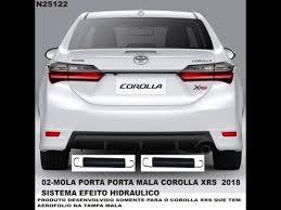 Super mola hidraulica porta mala corolla 2018 - YouTube #ON65