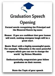 brilliant high school graduation speeches