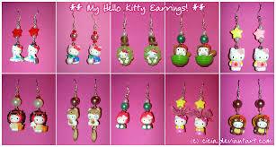 hello earrings hello earrings i by cicia on deviantart
