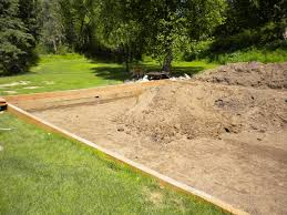 the quest for the backyard sand volleyball court completing the