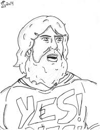 printable gymnastics coloring pages get this printable wwe coloring pages daniel bryan 32901