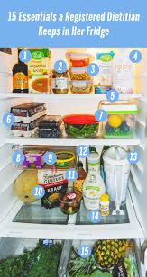 Pantry Of Simple But Professional 15 Foods A Nutritionist Keeps In Her Fridge Health
