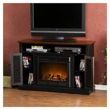 fresh modern gas fireplace with tv stand 7669