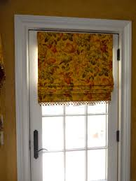 Flat Roman Shades - fabric shades by curtains boutique in bergen county nj