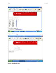 alumni website software software design description sdd sle