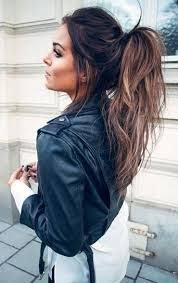 ponytail hairstyles for the 25 best simple ponytail hairstyles ideas on pinterest easy