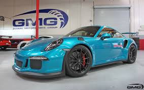 porsche racing colors atomic teal porsche 991 gt3rs gmg racing