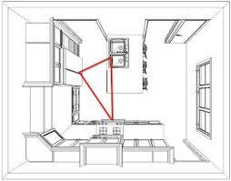 kitchen design triangle best 25 work triangle ideas on pinterest