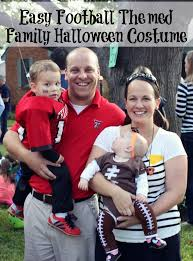 Football Halloween Costumes Toddlers Scary Family Halloween Costumes Everydayfamily