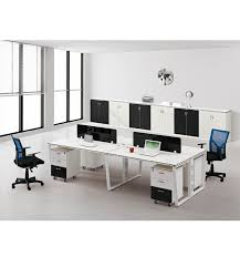 Office Furniture Discount by Big Discount Melamine 4 Person Modular Office Workstation Modern