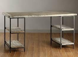 wood and metal writing desk rustic modern desk contemporary wood office urban onsingularity com