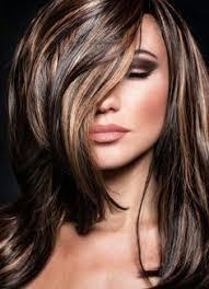 chocolate hair with platinum highlight pictures platinum highlights on dark hair hair pinterest platinum