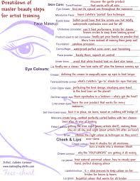 consultation 2550 x 3300px makeup artist facecharts for professional makeup lessons toronto gta
