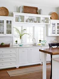kitchen decorating ideas above cabinets kitchen decor ideas above cabinets mariannemitchell me