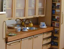 dollhouse furniture kitchen dollhouse kitchen how to use paper for furniture handles