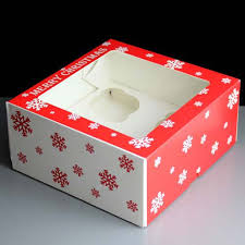where can i buy christmas boxes christmas cake boxes bright christmas cupcake boxes 1 dz