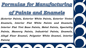 formulas for manufacturing of paints and enamels youtube