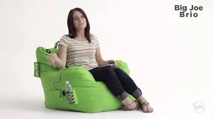 Big Joe Kids Bean Bag Chair Comfort Research Big Joe Brio Youtube