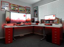 pc setup ideas images about office on pinterest interior design space and offices