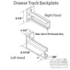 Cabinet Drawer Parts Cabinet Drawer Parts Drawer Tracks All About Doors And Windows