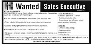 sales executive job responsibilities sales executive job