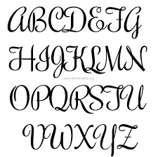 free letters templates best photos of free printable fancy alphabet letters templates